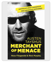 Austen Tayshus Merchant of Menace Book