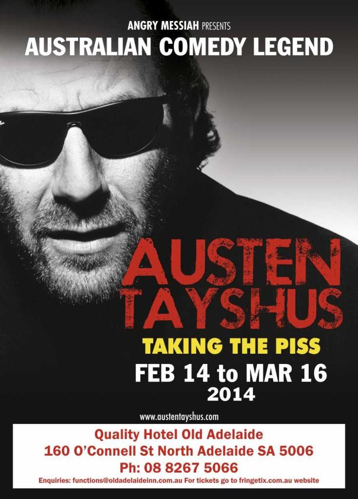 Australian Comedians Austen Tayshus